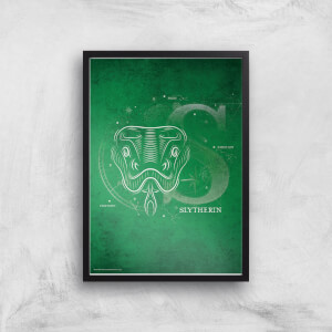 Harry Potter Slytherin Giclee Art Print
