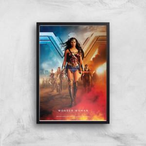 DC Wonder Woman Giclée Kunstdruck