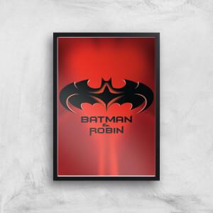 Batman & Robin Giclee Art Print