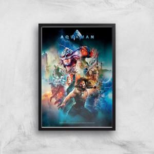 DC Aquaman Giclee Art Print