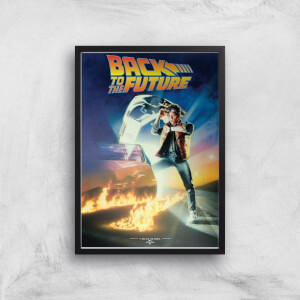 Back To The Future Part 1 Giclee Art Print