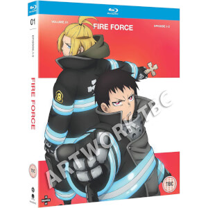 Fire Force: Season One Part One (Episodes 1-12)