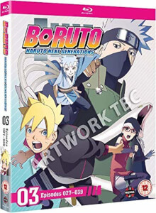 Boruto: Naruto Next Generations Set Three (Episodes 27-39)