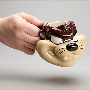 Looney Tunes Taz Shaped Mug