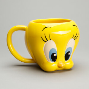 Looney Tunes Tweety Shaped Mug