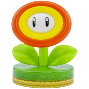 Super Mario Fire Flower Icon Light