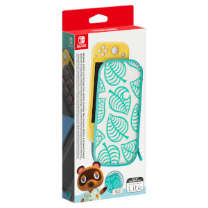 Nintendo Switch Lite Carrying Case (Animal Crossing: New Horizons Edition) & Screen Protector