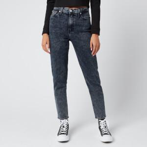 Calvin Klein Jeans Women's Mom Jeans - Blue Black