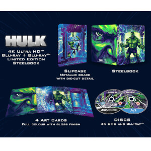 Hulk (2003) 4K + Blu-ray 2D - Steelbook Ed. Limitada Exclusivo
