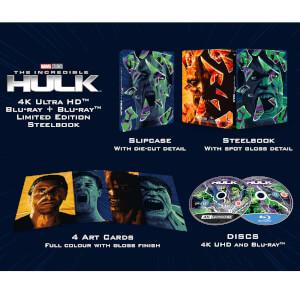 El increíble Hulk (2008) 4K + Blu-ray 2D - Steelbook Ed. Limitada Exclusivo