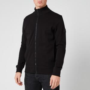 BOSS Men's Zkybox 1 Zip Sweatshirt - Black