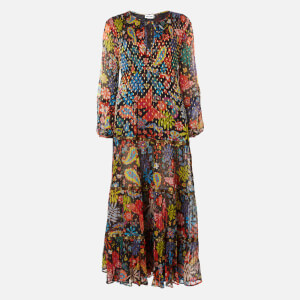 RIXO Women's Lori Maxi Dress - Woodstock With Lurex