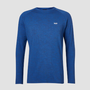 T-shirt Performance Long Sleeve MP - Blu cobalto/Nero