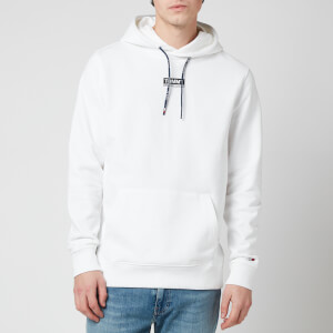 Tommy Jeans Men's Essential Graphic Hoodie - White