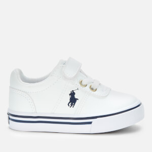 Polo Ralph Lauren Toddlers' Hanford III PS Velcro Trainers - White