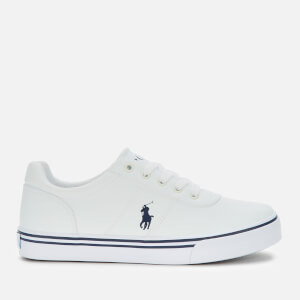 Polo Ralph Lauren Kids' Hanford III Low Top Trainers - White