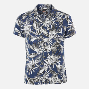 Superdry Men's Edit Cabana Shirt - Blue Palm