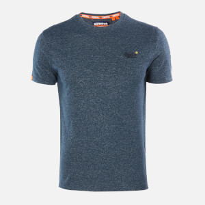 Superdry Men's Vintage Emblem T-Shirt - Abyss Navy Feeder