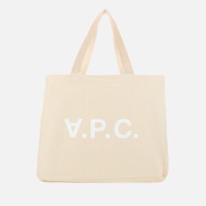 A.P.C. Women's Daniela Shopping Tote - Ecru