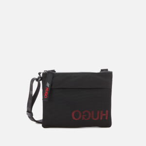 HUGO Men's Record Sl Envelope Pouch - Black