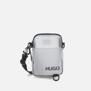HUGO Men's Cyber Zip Pouch - Grey