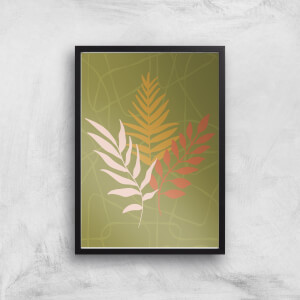 Earth Tone Branches Giclée Art Print