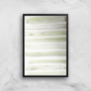 Brush Stripes Giclée Art Print