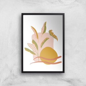 Abstract Holiday Art Giclée Art Print