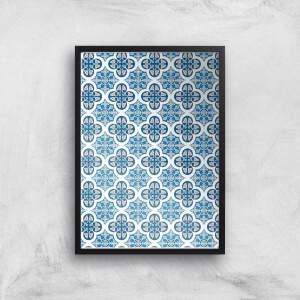 Small Tiles Giclée Art Print