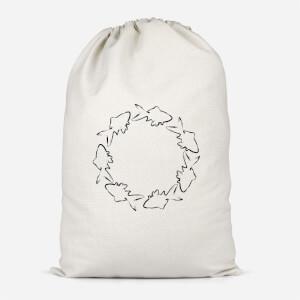 Fish Cotton Storage Bag