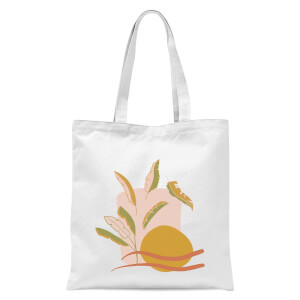 Abstract Holiday Art Tote Bag - White