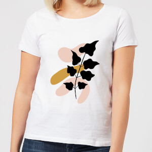 Abstract Branch Women's T-Shirt - White