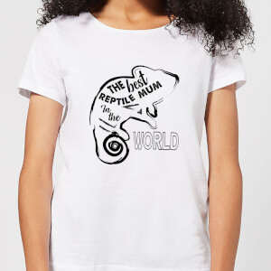 The Best Reptile Mum In The World Women's T-Shirt - White