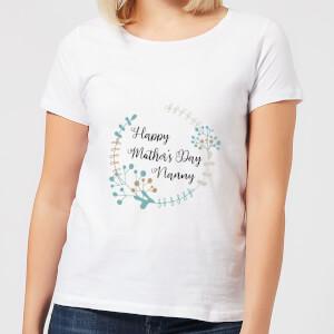 Happy Mother's Day Nanny Women's T-Shirt - White