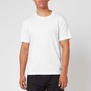 White Mountaineering Men's Logo Printed T Shirt - White