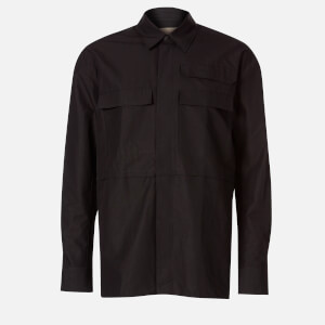Maison Kitsuné Men's Multi Pocket Overshirt - Black