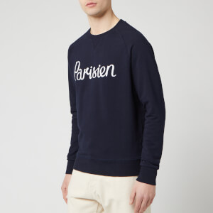 Maison Kitsuné Men's Parisien Sweatshirt - Navy