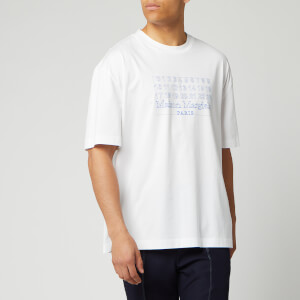Maison Margiela Men's Mako Cotton Jersey T-Shirt - White