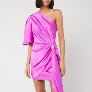 Solace London Women's Marcie Mini Dress - Bright Purple