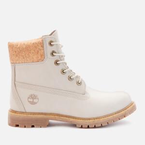 Timberland Women's 6 Inch Nubuck Premium Boots - Light Taupe/Cork