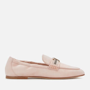 Tod's Women's Suede T Loafers - Pink