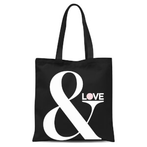 & Love Tote Bag - Black