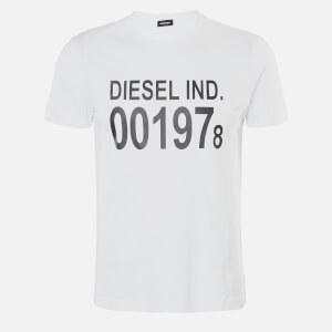 Diesel Men's Diego 1978 T-Shirt - Bright White