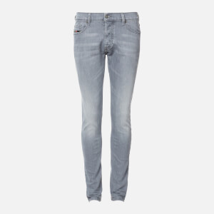 Diesel Men's D-Luster Straight Jeans - Grey