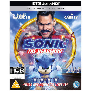 Sonic The Hedgehog - 4k Ultra HD (Includes 2D Blu-ray)
