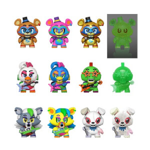 Five Nights at Freddy's Security Breach Mystery Minis