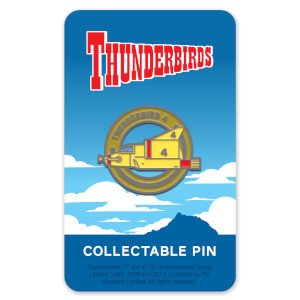Thunderbirds Enamel Pin Badge 4