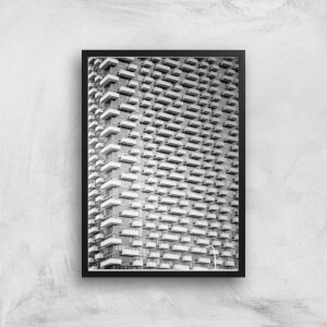 Apartment Block Giclee Art Print