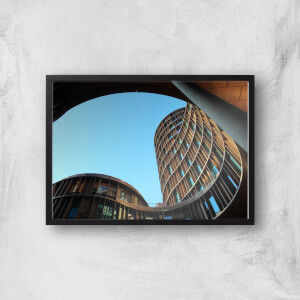 Building From Below Giclee Art Print
