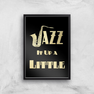 Jazz It Up A Little Giclee Art Print